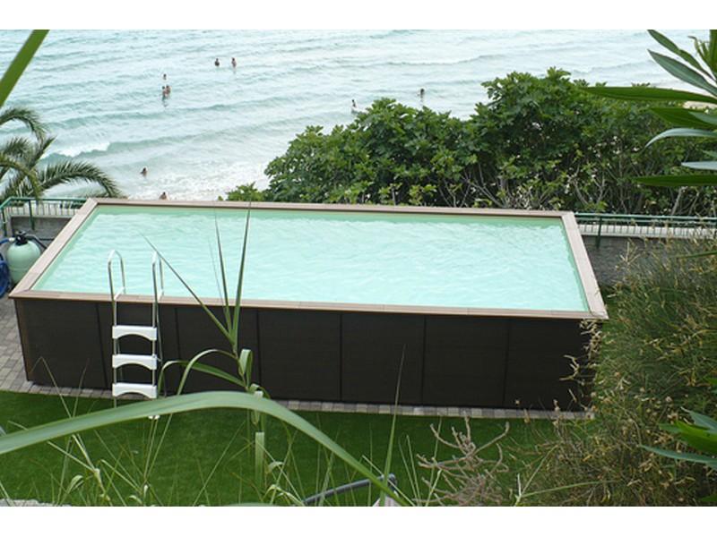 Piscine hors sol laghetto prix piscine laghetto dolce for Piscine bois prix usine