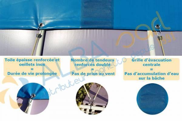 Bâches hiver Luxe pour Laghetto (Classic, Pop, Evolution, Azur, Country etc..)