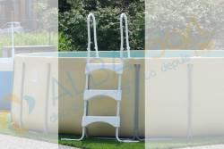 Echelle amovible pour piscine de 95cm de haut