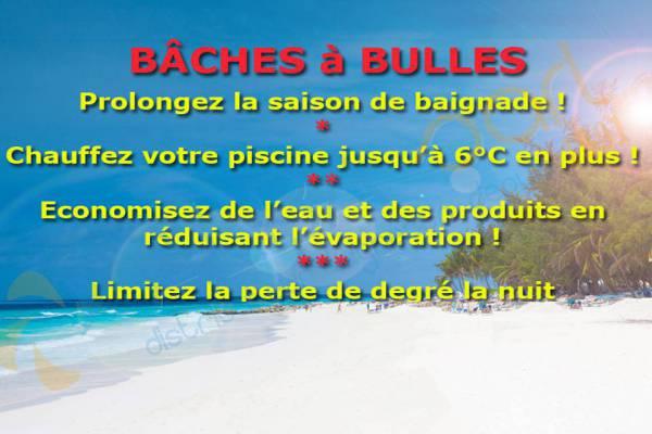 Bâches à bulles pour Piscine Ronde Laghetto OMEGA