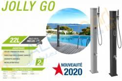 Douche solaire écologique aluminium JOLLY GO