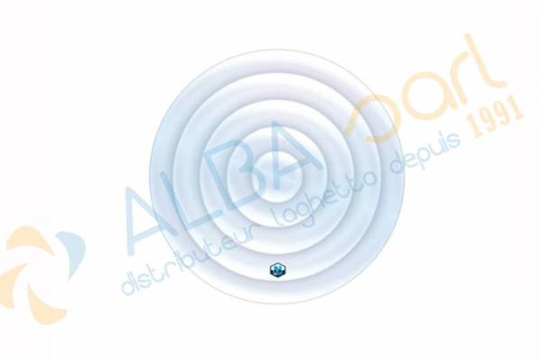 Couvercle gonflable spa 4 places rond NETSPA