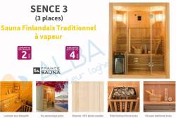 Sauna SENCE 3 (3 places)