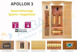 Sauna APOLLON 3 (3 places)