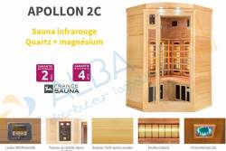 Sauna APOLLON 2C (2/3 places)