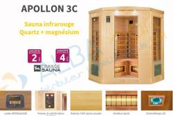 Sauna APOLLON 3C (3/4 places)