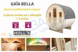 Sauna extérieur Gaïa BELLA (3 places)