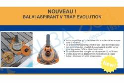 Balai aspirateur avec préfiltre VTRAP