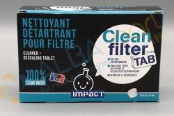 Nettoyant/Détartrant filtre CLEAN FILTER TAB