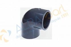 Coude PVC D50mm 90°