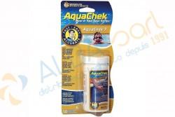 Bandelettes de test Aquachek 7-en-1