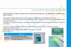Set de détection fuite (produit + seringue)