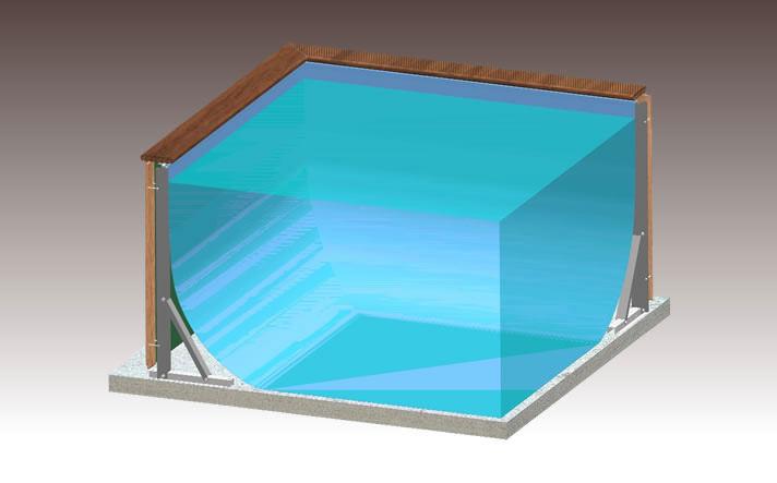 structure acier dolcevita laghetto